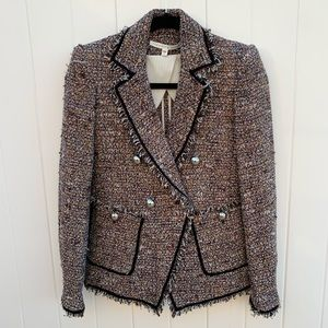 Veronica beard tweed blazer